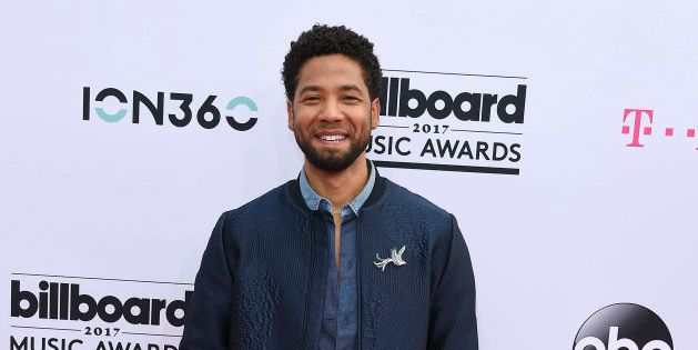 Jussie Smollett lors des Billboard Music Awards à Las Vegas en