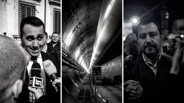 Fünf-Sterne-Chef Di Maio und Lega-Chef Salvini streiten wegen einer