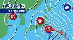 【週間天気】3.11被災地は雨風強まる スギ花粉は飛散ピーク