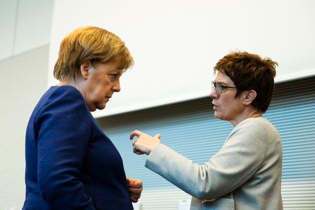 Wird AKK Merkels Nachfolgerin? Oder läuft die SPD dann