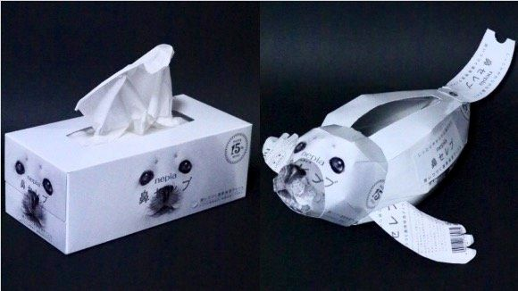 鼻セレブから製作した作品