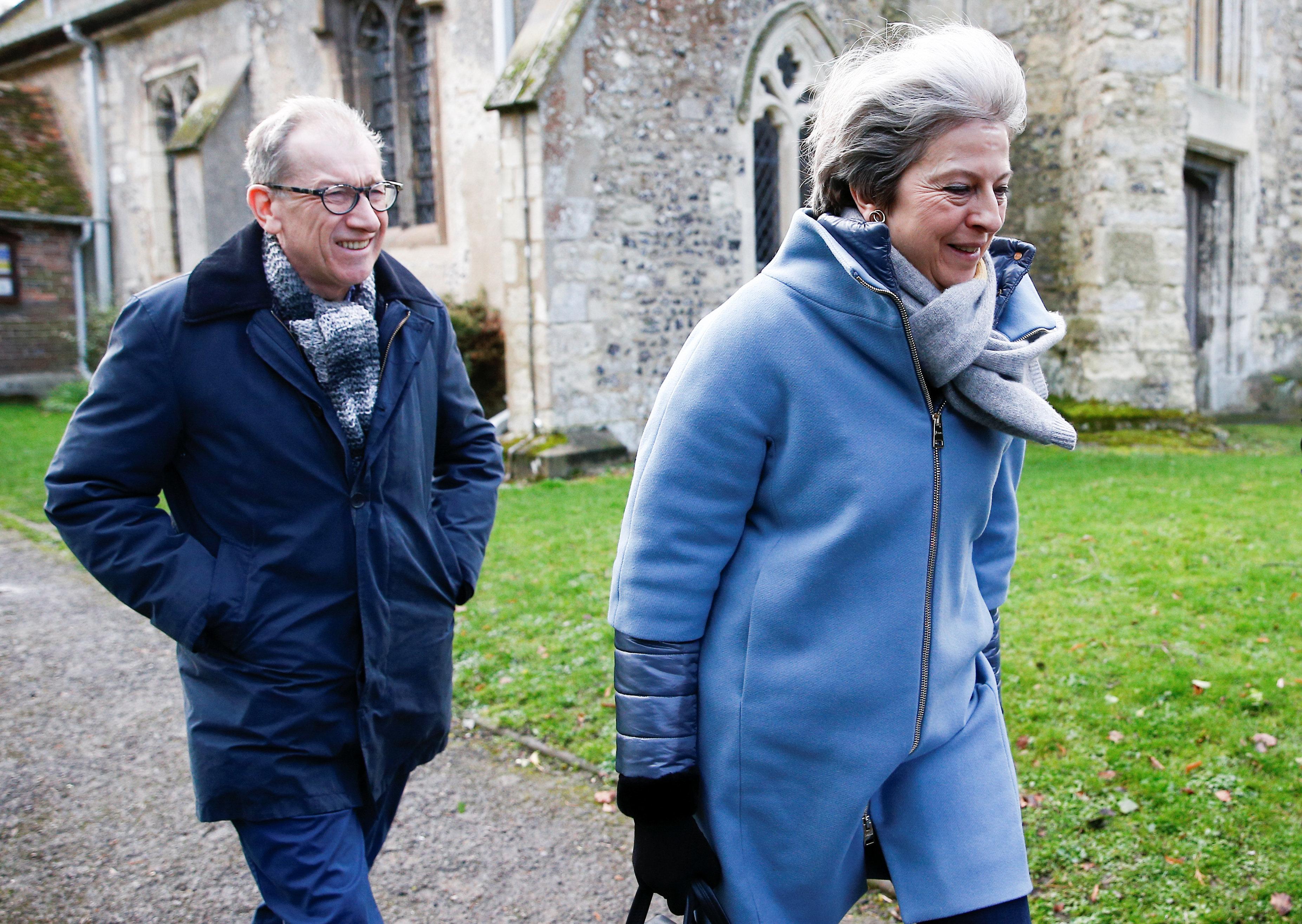 Theresa May am
