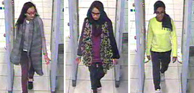 Shamima Begum fled the UK aged