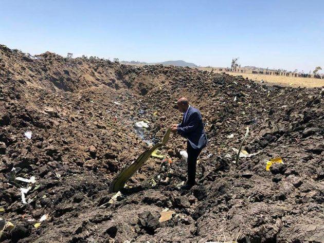 Auf diesem von der Ethiopian Airlines Facebookseite zur Verfügung gestellten Bild ist Tewolde Gebremariam,...