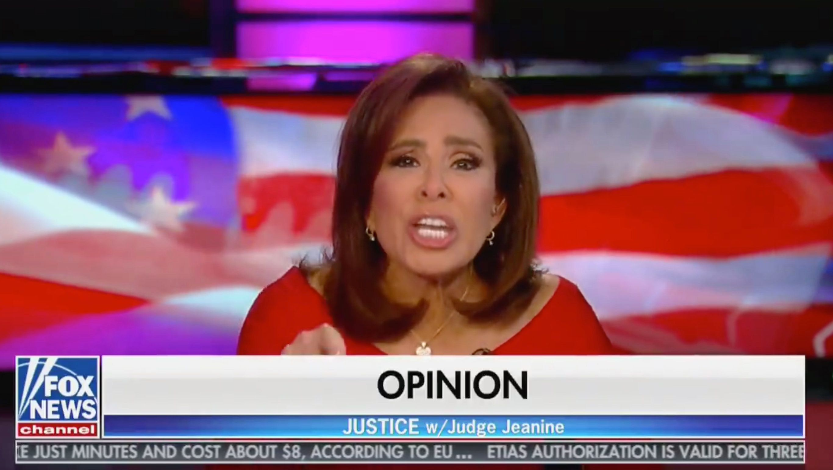 In a thinly-disguised show of Islamophobia on Saturday, Fox News host Jeanine Pirro questioned whether Rep. Ilhan Omar's (D-Minn.) hijab conflicts with the principles of the U.S. Constitution.