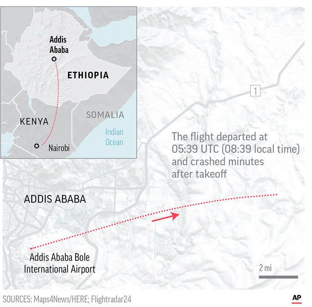 Fears Raised Over Boeing 737 Max Aircraft After Ethiopian Airlines Flight