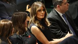 Als Melania Trump die australische Außenministerin traf, unterlief der First Lady ein