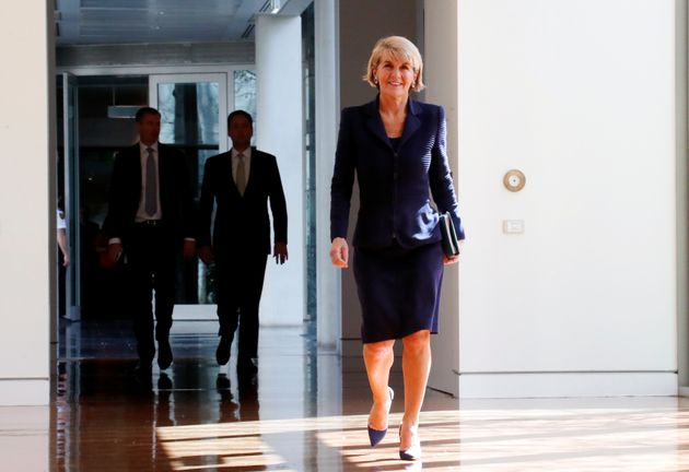 Julie Bishop im Sommer
