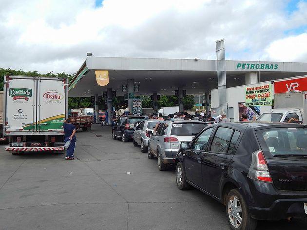 Em meio à greve dos caminhoneiros, não faltou apenas gasolina, mas até o