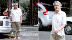 Um dia histórico! Caetano Veloso estacionou o carro no Leblon há... 8