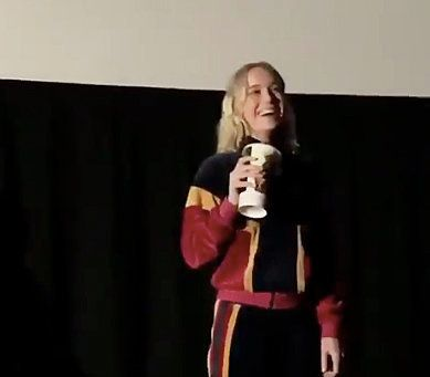 Brie Larson Surprises 'Captain Marvel' Moviegoers At New Jersey