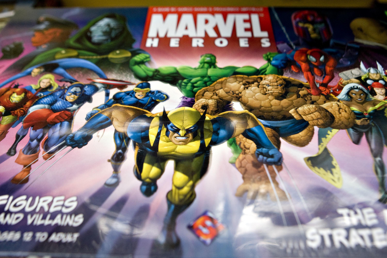 マーベルのスーパーヒーローたち