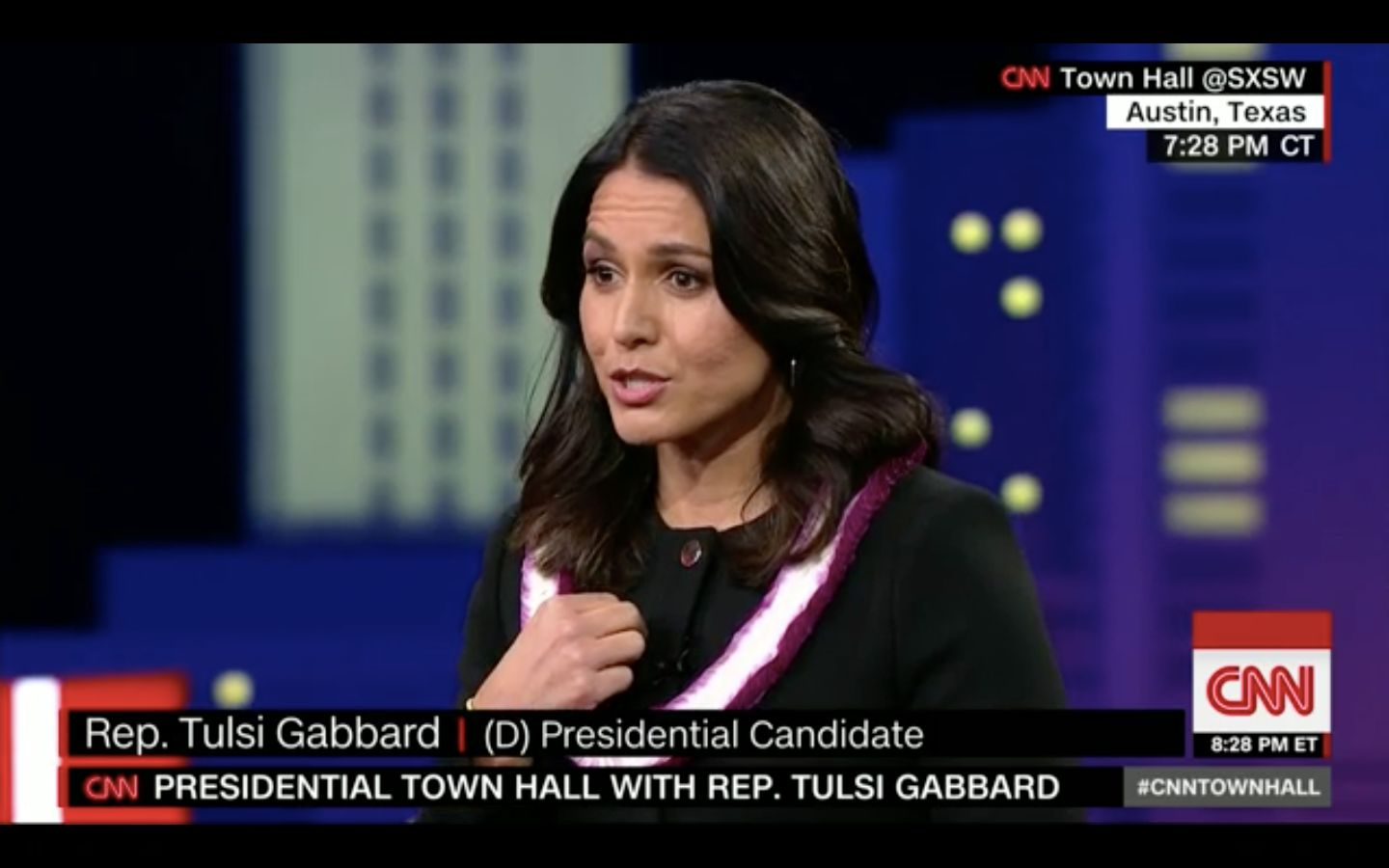 Gabbard On Assad: 'Evidence Has To Be Gathered' On Whether He Is A War Criminal