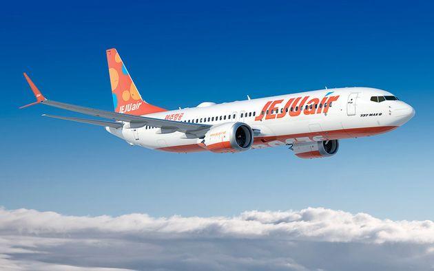 제주항공은 40대(옵션 10대)의 보잉 737맥스8 도입 계약을