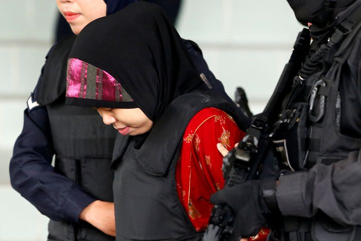 Siti Aisyah was on trial for the killing of Kim Jong Nam, the estranged half-brother of North Korea's leader.