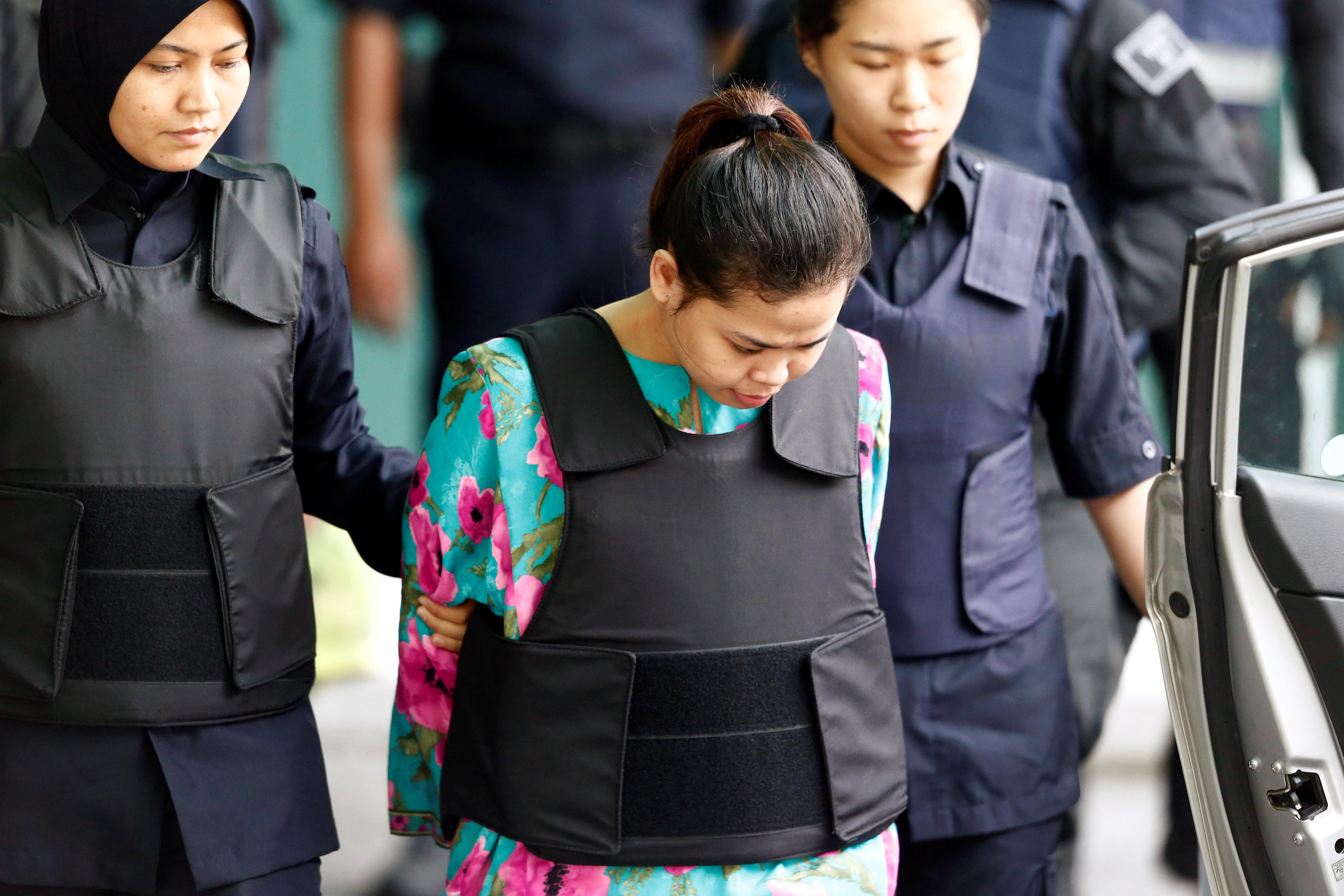 말레이시아 법원이 '김정남 살해 피의자' 한명을 전격