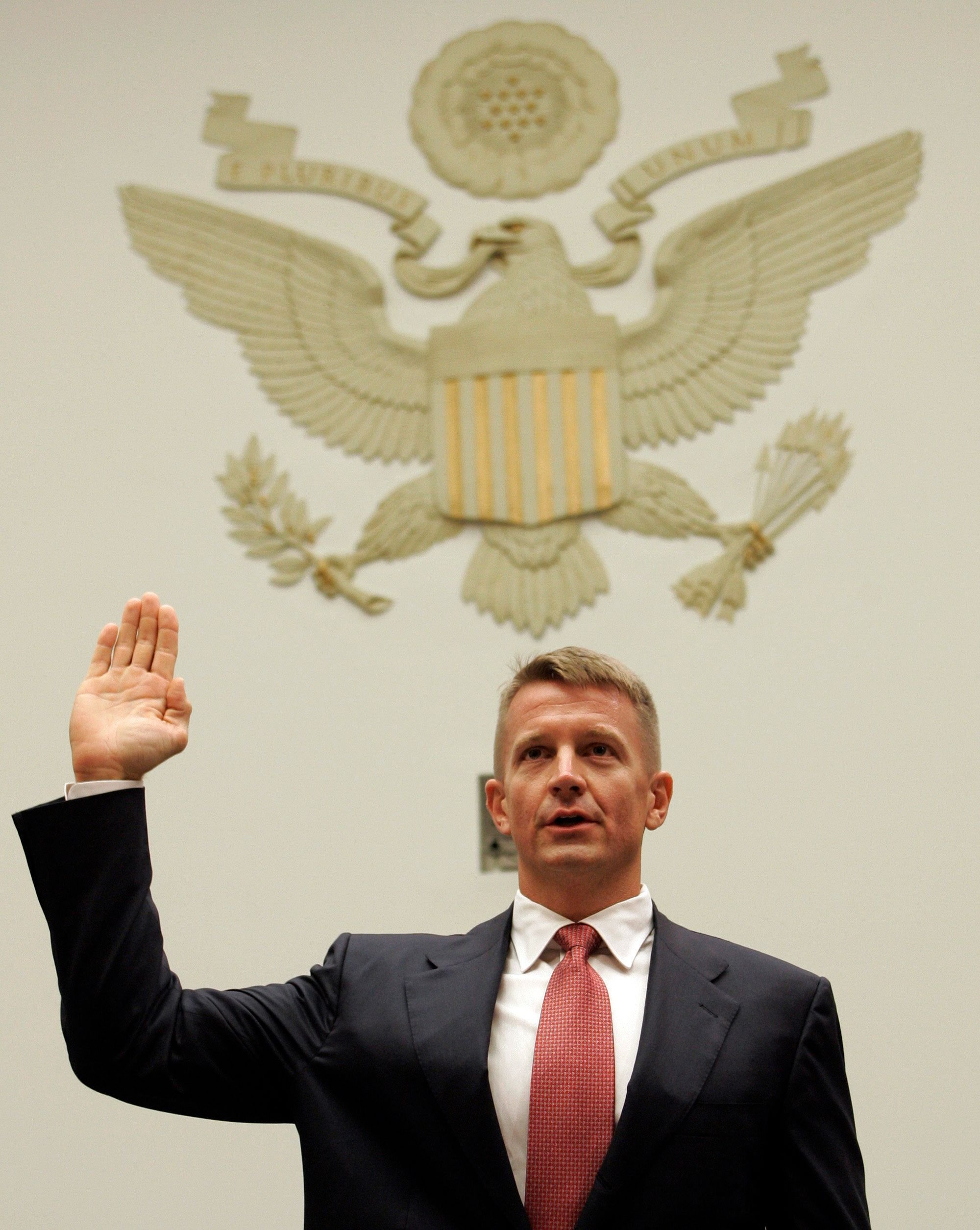 """<a href=""""https://www.huffpost.com/news/topic/erik-prince"""" target=""""_blank"""">Erik Prince</a>now claims he testified that&n"""