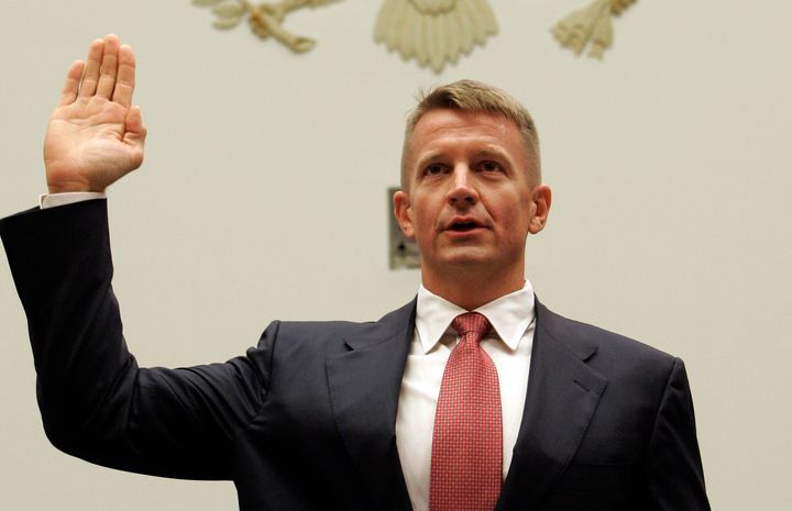 "<a href=""https://www.huffpost.com/news/topic/erik-prince"" target=""_blank"">Erik Prince</a>&nbsp;now claims he testified that&n"