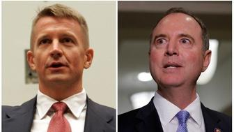 Rep. Adam Schiff (D-Calif.) accused Erik Prince, former head of mercenary contractor Blackwater, of concealing a second shadowy Trump Tower meeting with a representative of foreign governments during Donald Trump's campaign.