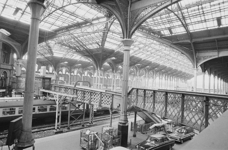 Liverpool Street station in the late 1970s