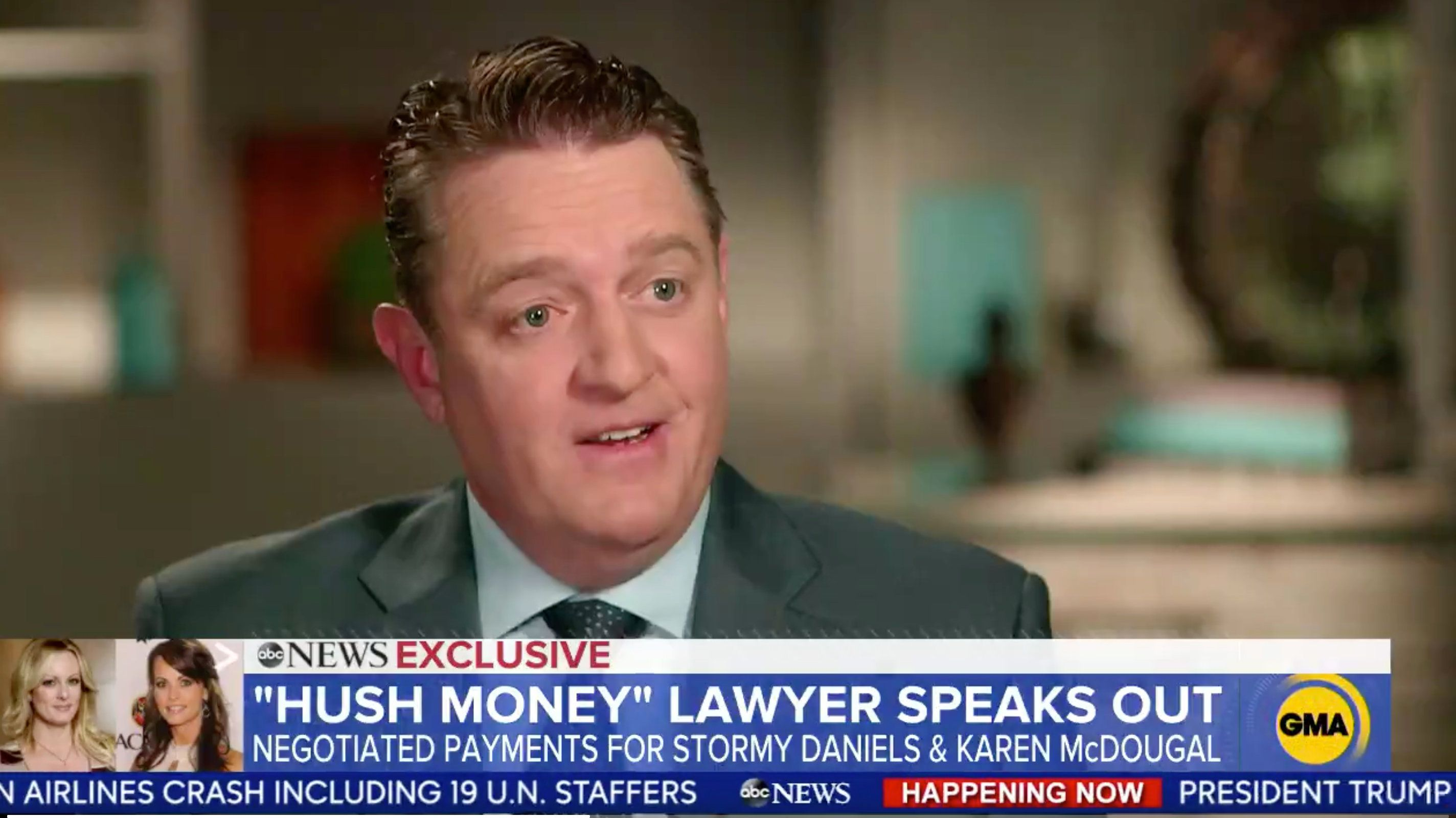 Porn star Stormy Daniels' former attorney Keith Davidson claimed a $130,000 payout he orchestrated for her silence on an alleged affair with President Donald Trump was politically motivated.