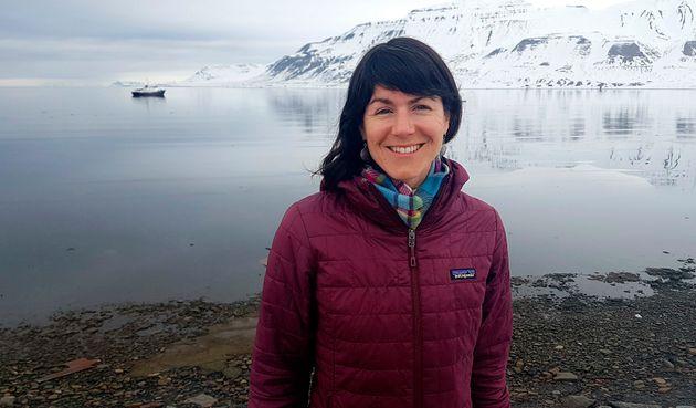 Polar expert Sarah