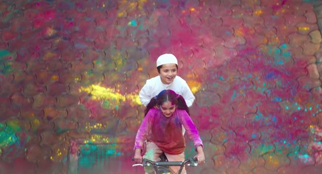 Surf Excel's Holi ad features a girl dropping her Muslim friend at a mosque, and gives a message of religious...