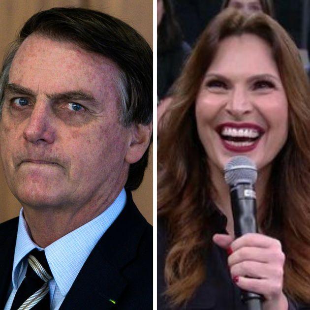 Brincadeira colocando pergunta de Bolsonaro como uma das dúvidas para a sexólogaLaura...