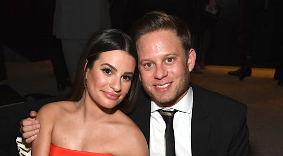 Lea Michele Of 'Glee' Marries Clothing Executive Zandy Reich