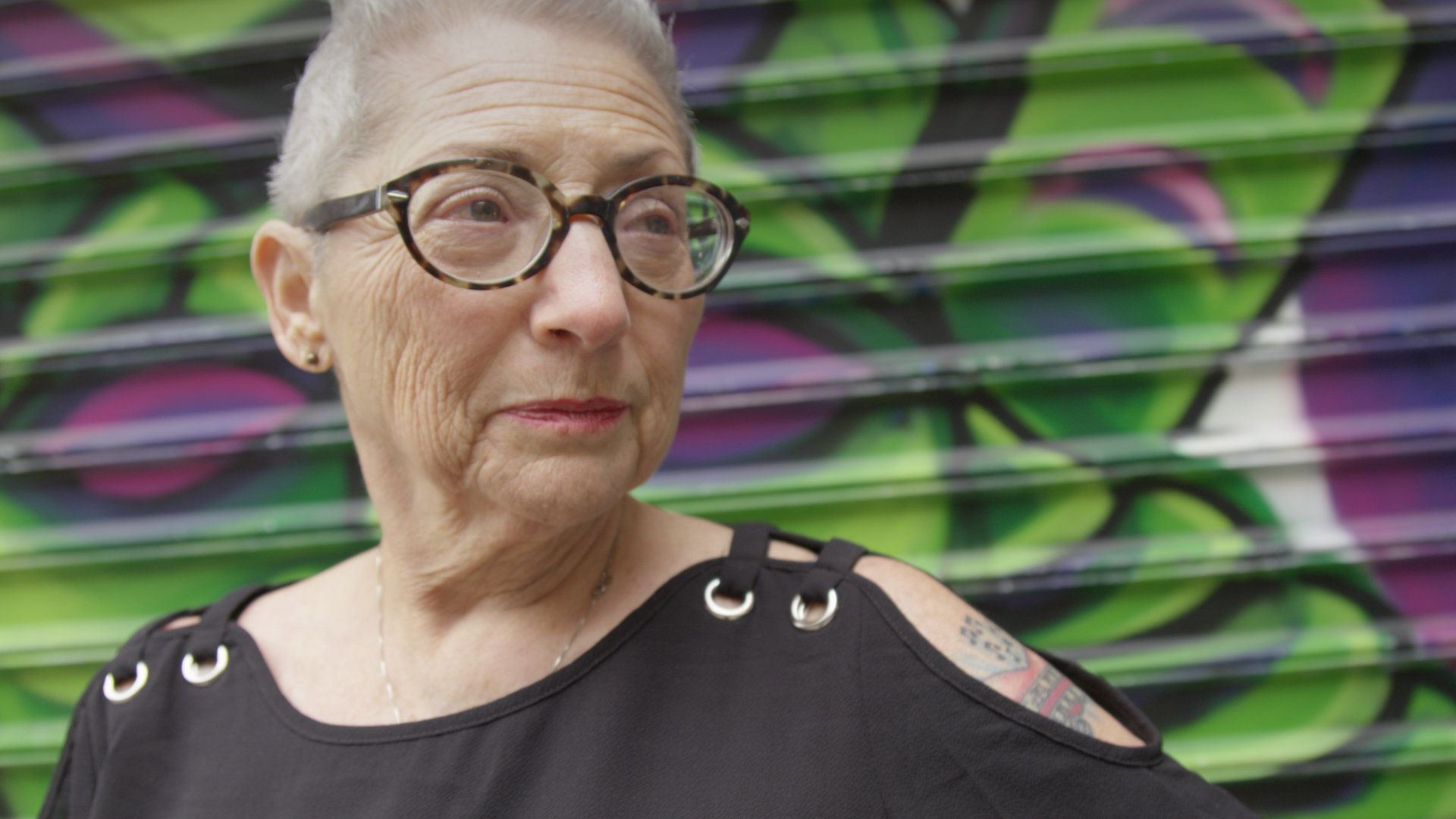 This Woman's Proud To Be 80 Years Old ―- And Got A Tattoo To Celebrate