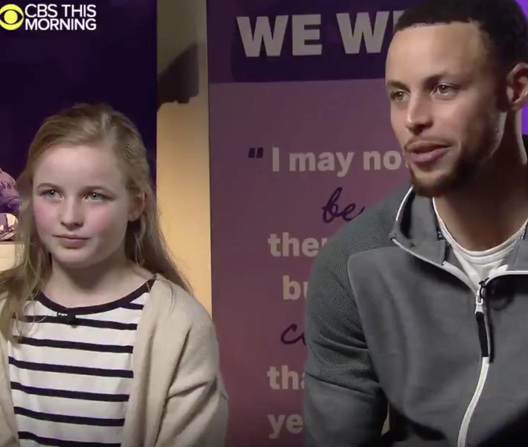 9歳の少女のファンレターが、NBAスターのステフィン・カリー選手を動かした。女子用のバッシュ販売を約束(国際女性デー)
