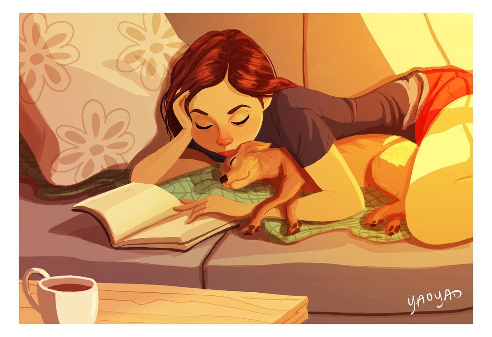 These Heartwarming Illustrations Show That Dogs Make The Best