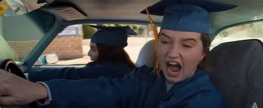 """Beanie Feldstein and Kaitlyn Dever go looking for trouble in the trailer for """"Booksmart,"""" Olivia Wilde's directorial debut."""