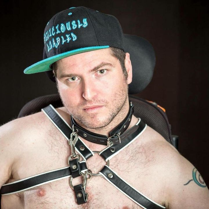 Andrew Gurza, creator of the #DisabledPeopleAreHot hashtag.