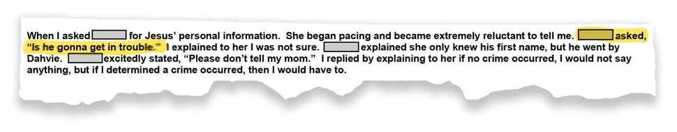 In a police report, 14-year-old Dianna Farrell asked an officer if her sexual abuser would get in trouble.