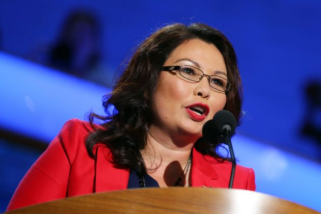Tammy Duckworth speaks at the Democratic National Convention in