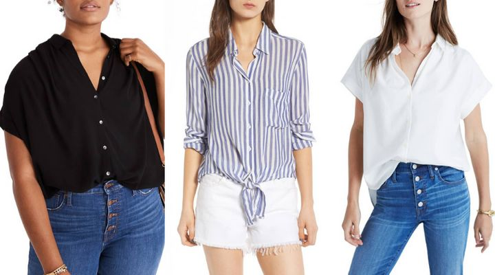20 Boxy Button-Up Shirts That Make Spring Style A Breeze