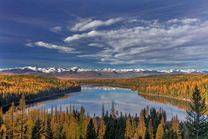 Flathead National Forest, in western Montana, is one of hundreds of projects around the country funded by the Land and Water