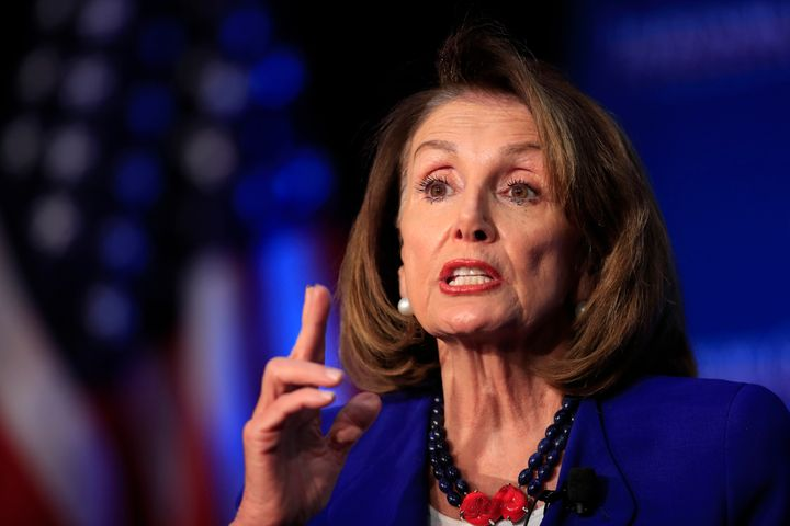 """I don't think he's fit to be president of the United States,"" House Speaker Nancy Pelosi said of Donald Tr"