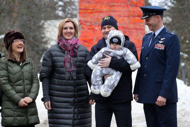 Expedition59/60に参加する予定の宇宙飛行士とその家族