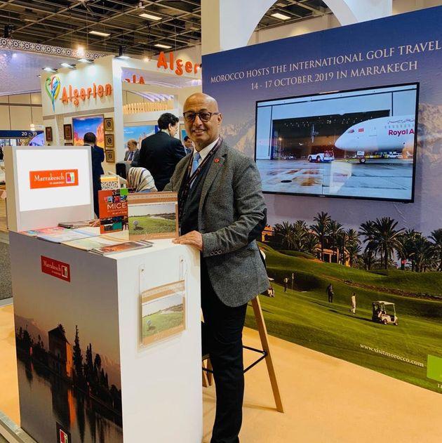 Jamal Saadi au salon du tourisme de Berlin