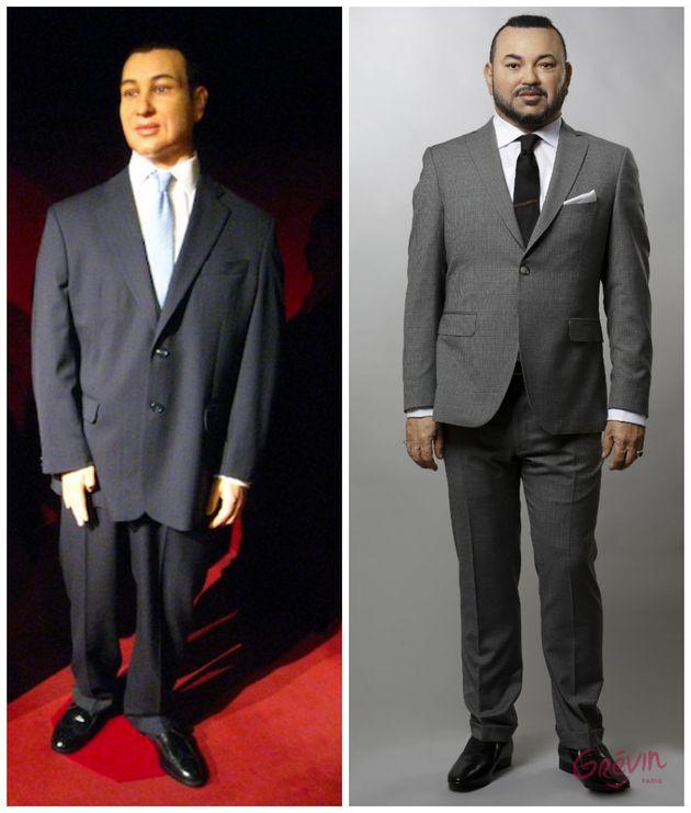 La statue de cire de Mohammed VI au musée Grévin fait peau