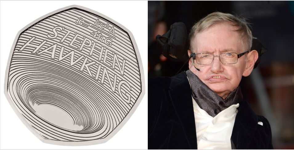 United Kingdom  issues new 'black hole' coin in honour of Stephen Hawking
