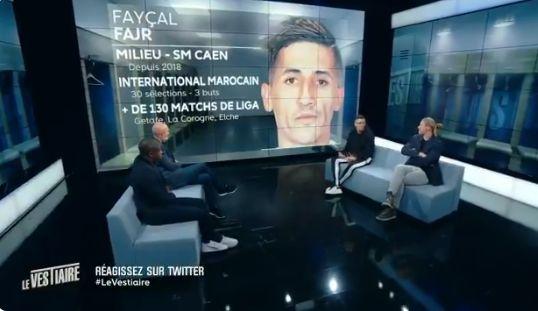 Invité sur le Plateau de RMC Sport, Faycal Fajr rend un hommage poignant à sa