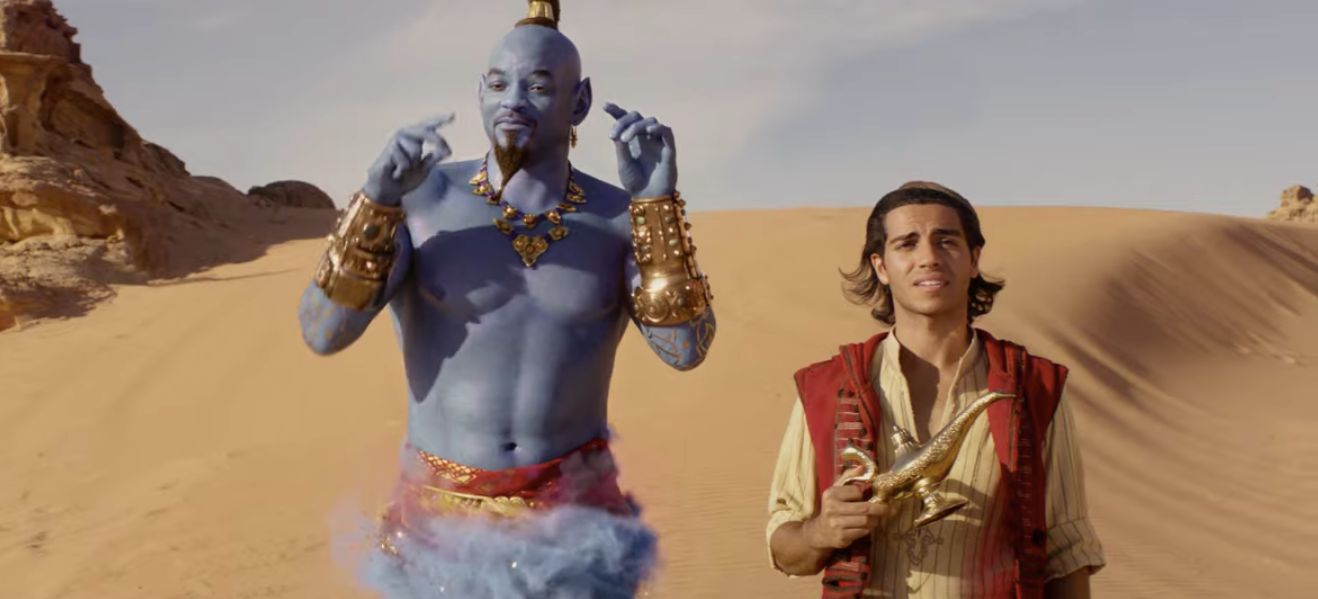 The New 'Aladdin' Trailer Is Here, This Time With