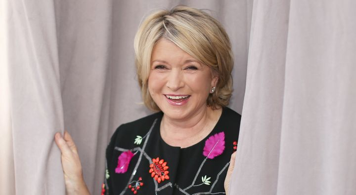 Martha Stewart has officially discovered face-editing apps for Instagram selfies.
