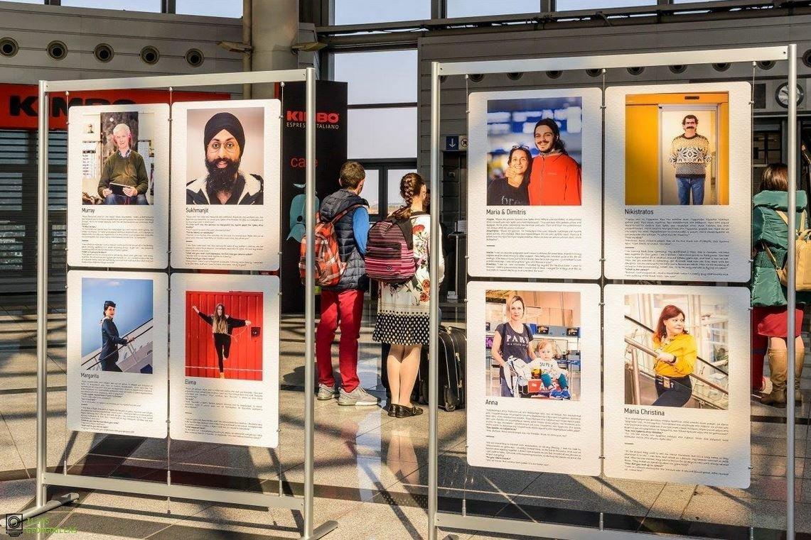 «Athens as a Book»: Ενα βιβλίο πριν την πτήση στο αεροδρόμιο της