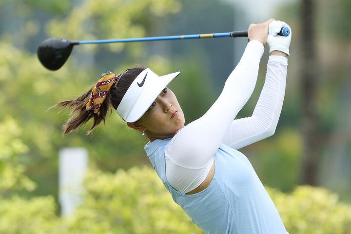 Michelle Wie has won five times on the LPGA tour.
