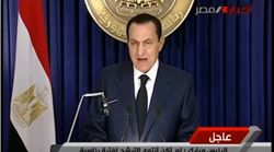 Comme Bouteflika, Moubarak avait lui aussi affirmé qu'il ne voulait pas se présenter à un nouveau