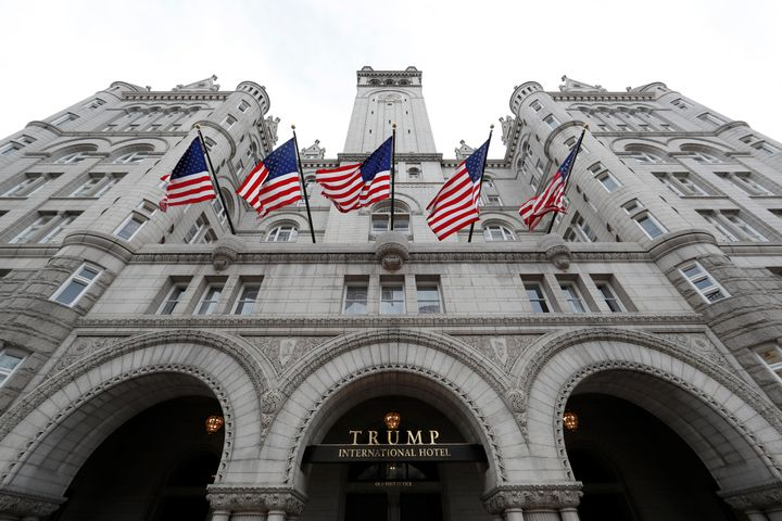 The Trump International Hotel in Washington, D.C., is the center of a new kind of influence-peddling in the Trump era.